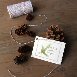 Celebrate Simple Things Gift Tags