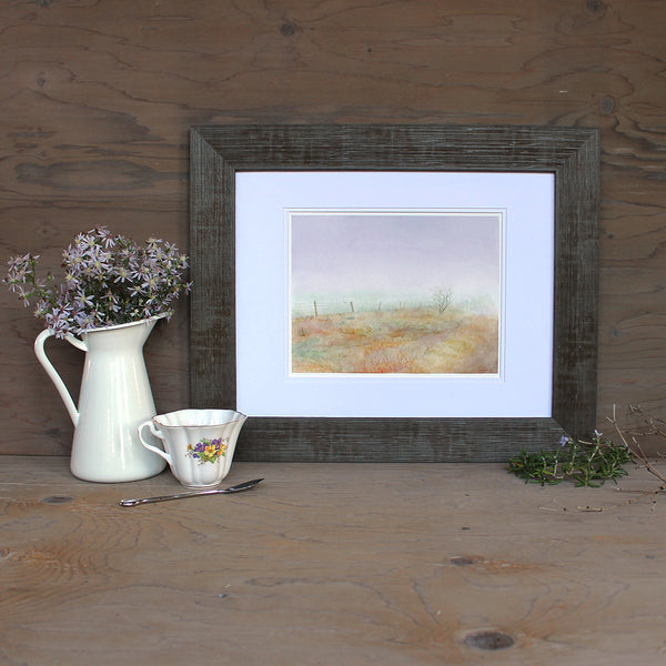 Haworth Moor Watercolor Print