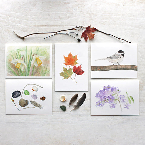 Nature Collection Cards - Set of 5