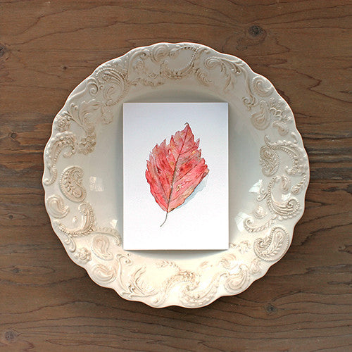 Set of 3 Autumn Leaf Prints