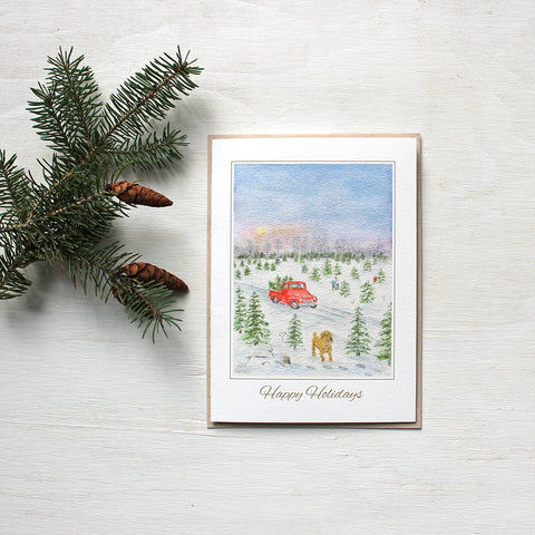 The Christmas Tree Farm - Holiday Cards