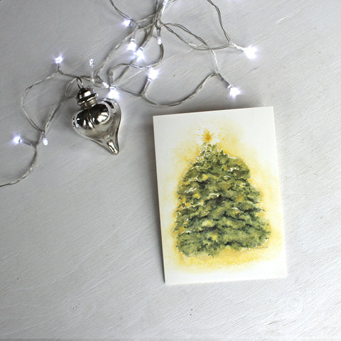 Twinkling Tree Holiday Cards