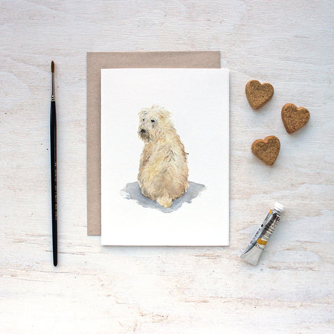 Wheaten Terrier Dog Note Cards