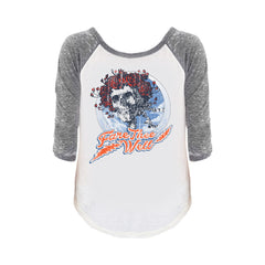 Fare Thee Well Vintage Circle Women's Raglan