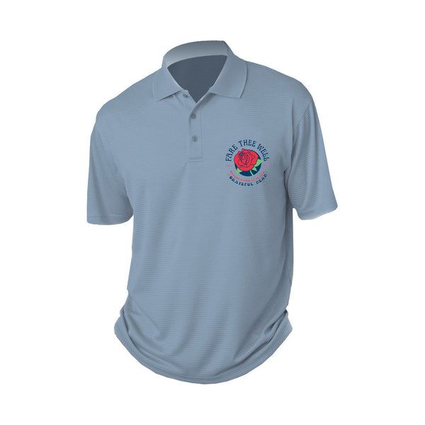 Fare Thee Well Rose Polo Shirt