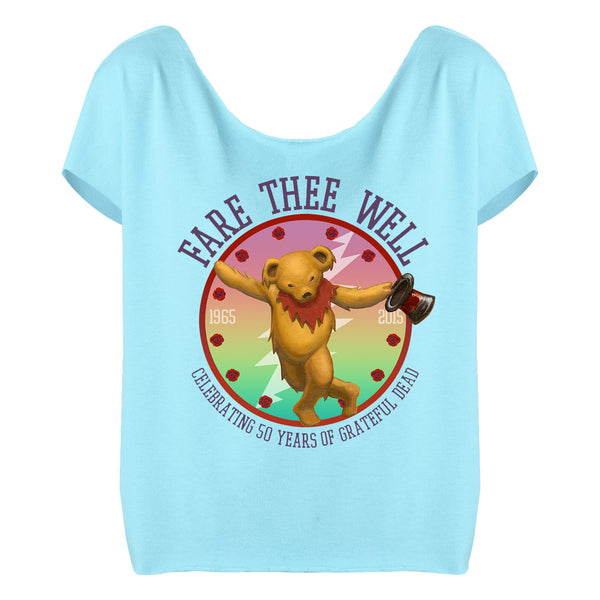 Fare Thee Well Bear on Cancun Dolman Women's Shirt