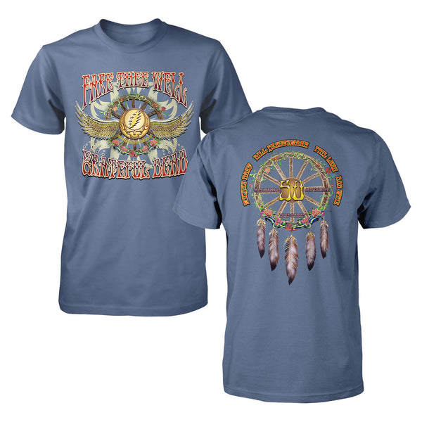Fare Thee Well Dreamcatcher Indigo T-Shirt