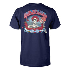 Fare Thee Well Chicago Admat on Navy Tee