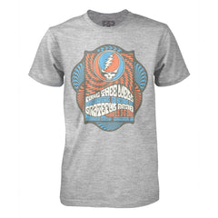 Spiral Steal Your Face Chicago Heather Grey T-Shirt