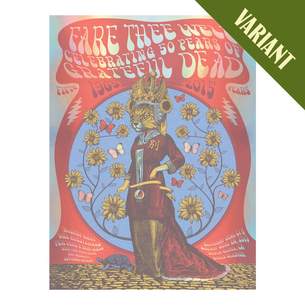 Fare Thee Well China Cat Screenprint - Variant