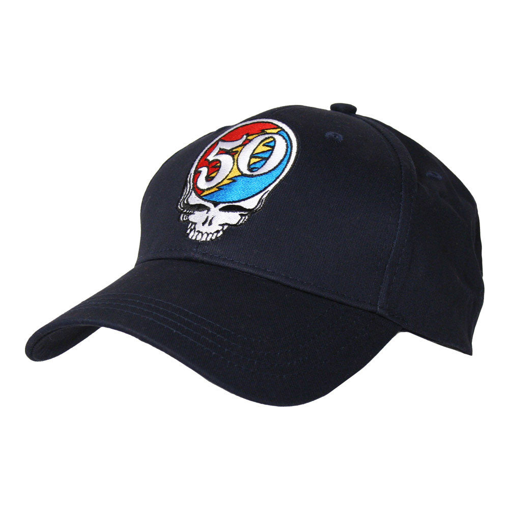 Steal Your Face 50th Navy Buckle Back Hat