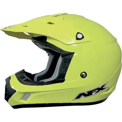 AFX FX17Y Hi-Visability Yellow Youth Helmet - Large - [0111-0784]