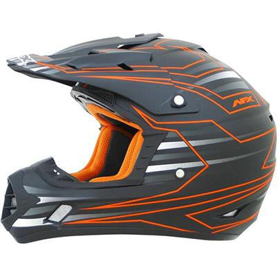 AFX FX17 Mainline Helmet - Large - Safety Orange [0110-4437]