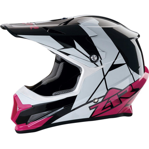 Z1R Pink Rise Adult Helmet - Xsmall - Small