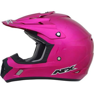 AFX FX17Y Fuchsia Youth Helmet - Large - [0111-0948]
