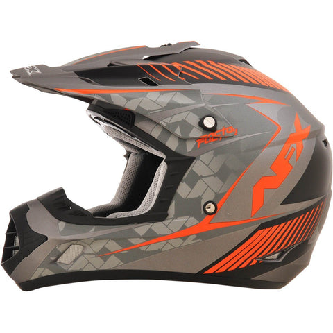 AFX FX17Y Factor Frost Orange Youth Helmet - Small - [0111-1010]
