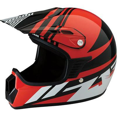 Z1R Roost SE Youth Helmet - RED - S/M [0111-1043]