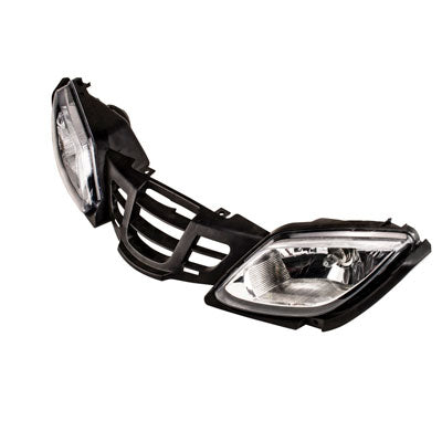 Chinese ATV Headlight Grill Assy for the Taotao Bull 200 - VMC Chinese Parts