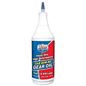 Lucas ATV Motorcycle SAE High Performance Gear Oil - 80W-90