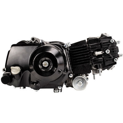 Engine Assembly - 110cc Automatic with Bottom Mount Starter for Dirt Bike - Version 6