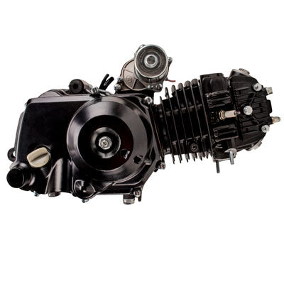 110cc Automatic with Reverse Complete Engine - Aluminum Cylinder - Version 3