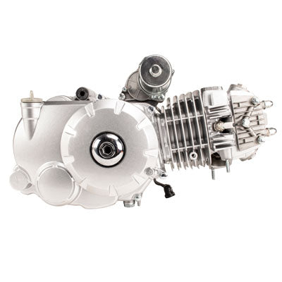 Engine Assembly - 125cc Automatic with Reverse for ATV - Aluminum Cylinder - Version 4 - VMC Chinese Parts