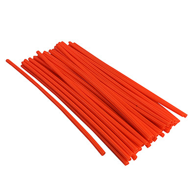 Spoke Covers - ORANGE - 36 Pieces, 240mm Long for Dirt Bike