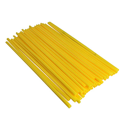 Spoke Covers - YELLOW - 36 Pieces, 240mm Long for Dirt Bike