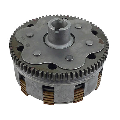 Secondary Clutch Assembly - 5 Plate - 4 Bolt - JS250 - Version 25