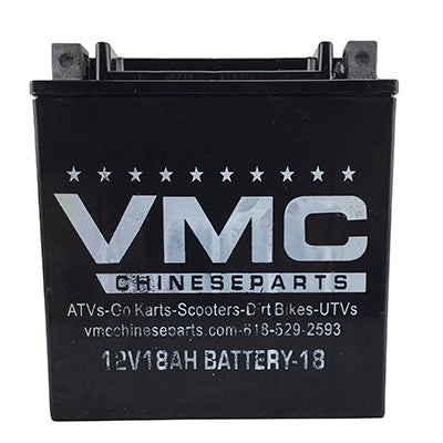 Battery 18Ah 12 Volt for ATV Go-Kart UTV