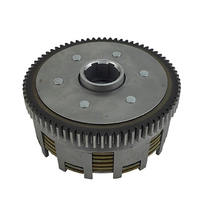 Clutch Assembly - 7 Plate - 6 Bolt - 300cc ATV - Version 63