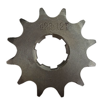 Front Sprocket 428-12 Tooth NO HOLES