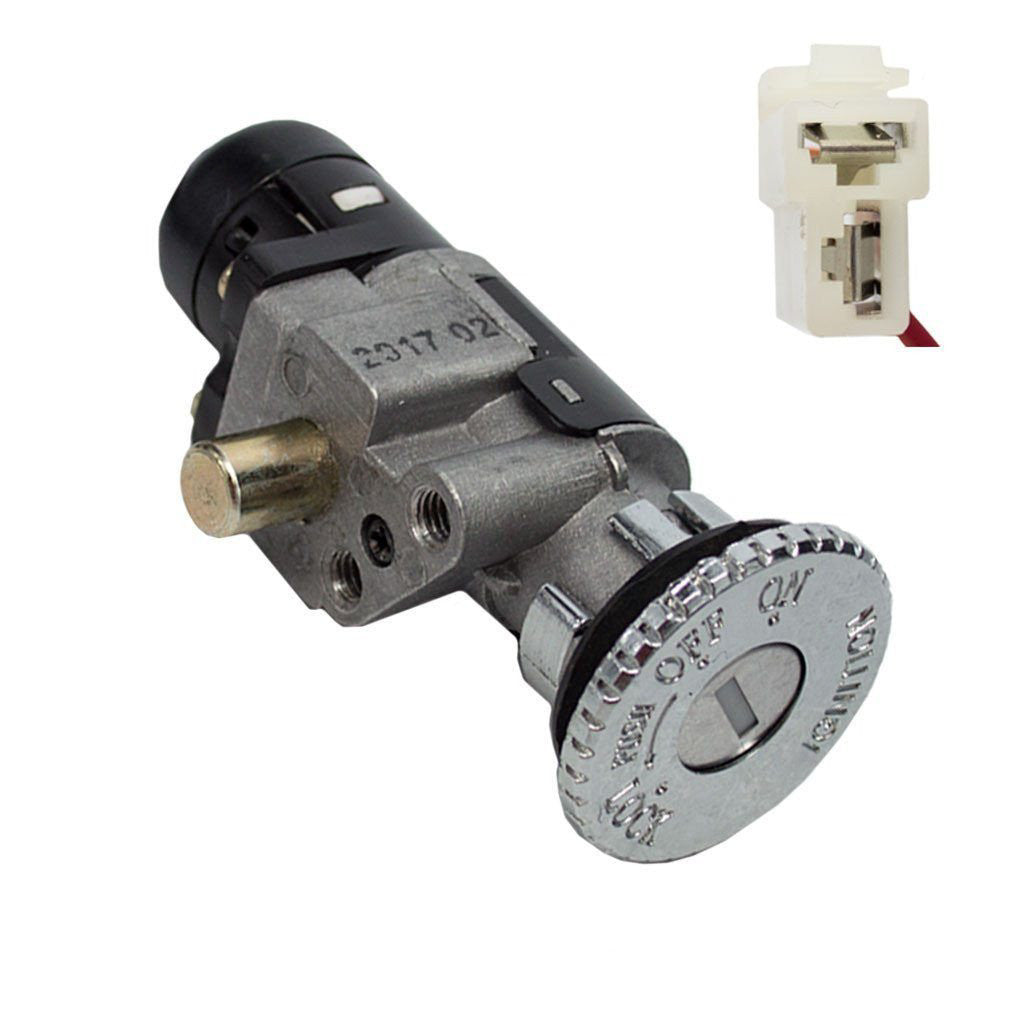 2-Wire Chinese Ignition Key Switch Set for Taotao ATE501 Electric ...