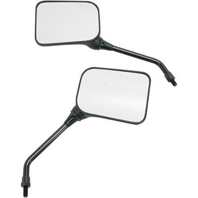 Emgo Universal GP Sport Matte Black Mirrors - 8MM - [2046208]