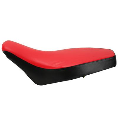 "21.5"" Chinese ATV Seat - TaoTao Peace Panther PL - RED / BLACK - Version 191 - VMC Chinese Parts"