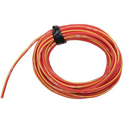 Shindy Products Colored Wire OEM - 14A - 13 Foot - RED/YELLOW - [2120-0289]