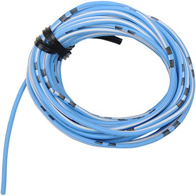 Shindy Products Colored Wire OEM - 14A - 13 Foot - SKY BLUE/WHITE - [2120-0292]