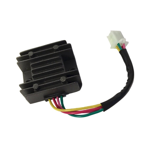 Voltage Regulator - 4 Wire / 1 Plug for Dirt Bikes Scooters ATVs - Version 41