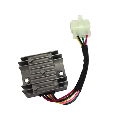 Voltage Regulator - 5 Wire / 1 Plug for Dirt Bikes Scooters ATVs - Version 48