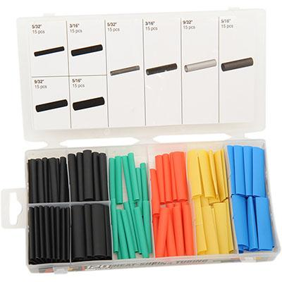 Performance Tools Heat Shrink Tubing Assortment - 120 piece - [2402-0145]