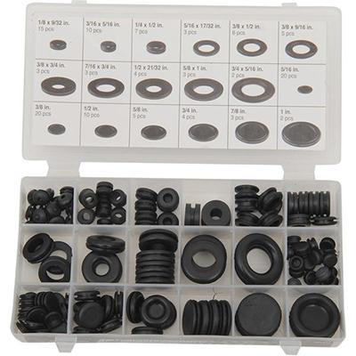 Performance Tool Rubber Grommet and Plug Assortment Kit - [2402-0148]