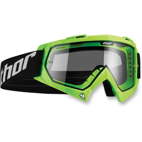 Thor Enemy Youth Printed Flo Green/Black Goggles - [2601-1737]