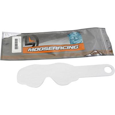 Moose Racing Qualifier Youth Goggle Tear Offs - 10 pack - [2602-0707]