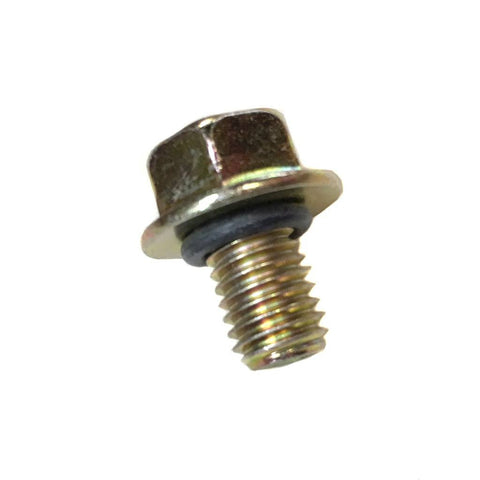 Chinese Engine Motor Oil Drain Plug Bolt - M8 x 12mm - O-ring