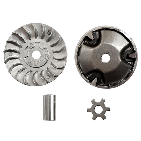 Variator Clutch Assembly - 2-Stroke 50cc 90cc Scooter - 18mm 17 Tooth - Version 503