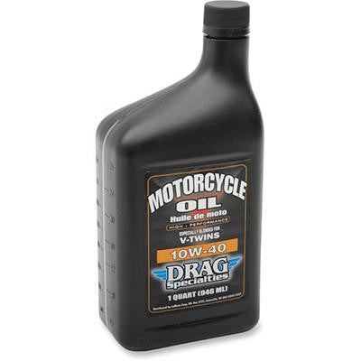 Drag Specialties 10W40 Motorcycle Oil - Quart - [3601-0353]