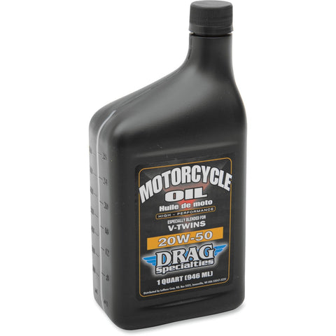 Drag Specialties 20W50 Motorcycle Oil - Quart - [3601-0354]