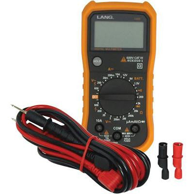 Lang Tools CAT III Digital Multimeter - 19 Functions - [3807-0223] - VMC Chinese Parts