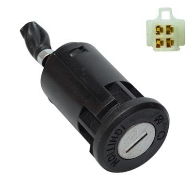 Ignition Key Switch - 4 Wire - Our Most Popular - Version 5