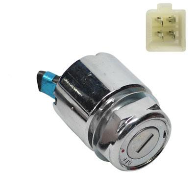 Ignition Key Switch - 4 Wire - Brancho 50cc - 110cc - Version 16